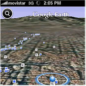 Google Earth For iPhone, iPod Touch