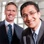 CIO Dan Drawbaugh and Dr. Rasu Shrestha, University of Pittsburgh Medical Center