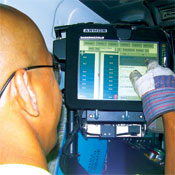 In Garbage Trucks: Waste Management has GPS tracking and onboard touch screens on Seattle routes. Dispatchers can now reroute drivers if needs change