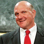 Steve Ballmer expects more deals like Bloomberg's