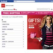 JCPenney Sets Up Shop In Facebook