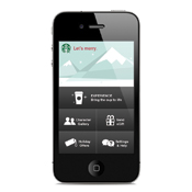 Starbucks Mobile Holiday App