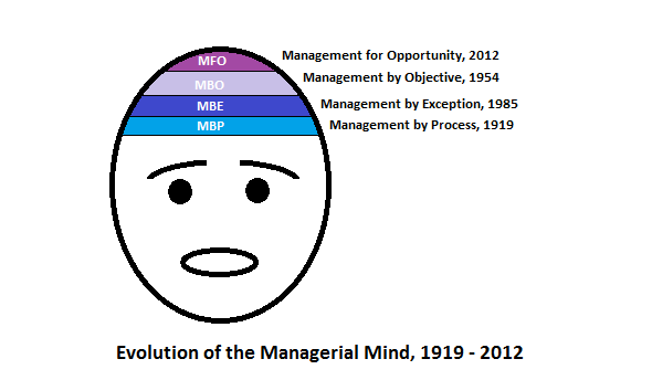 Evolution of the managerial mind