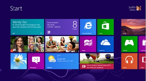 Windows 8 GUI