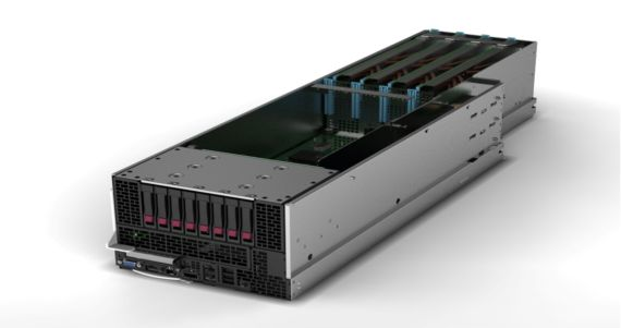 HP ProLiant SL390 G7 server