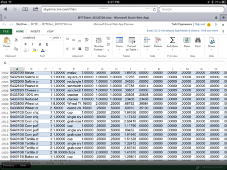 Microsoft Office Web Apps For iPad A Game Changer - InformationWeek
