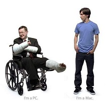 I'm a PC, I'm a Mac