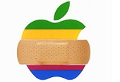 patched apple logo