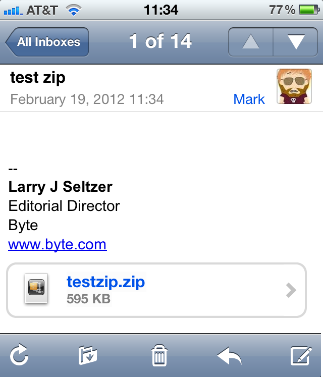 Free WinZip For iOS Handles Email Attachments - InformationWeek