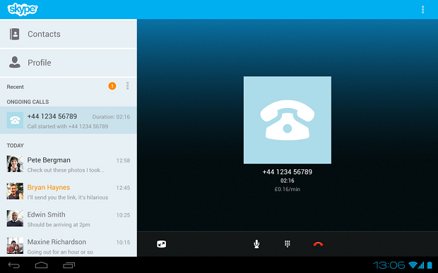 Skype for android - фото 9
