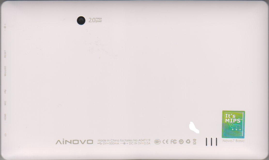 Ainovo Novo7 Basic Tablet