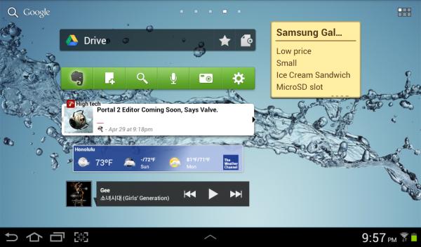 Виджеты для Android 4 2 2 Jelly Bean скачать бесплатно