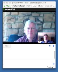 Biscotti on the Google Talk side