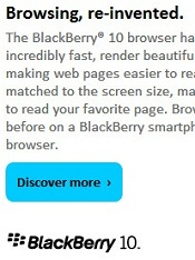 BlackBerry customer email