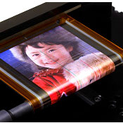 Sony Unveils Rollable Digital Display