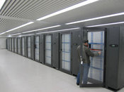 The Tianhe-1A Supercomputer At National Supercomputer Center In Tianjin