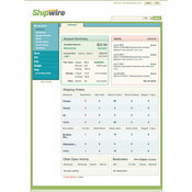 Shipwire Anywhere Dashboard