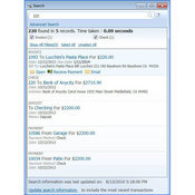 QuickBooks 2011 Search