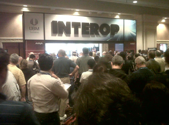 Exiting The Interop Keynote