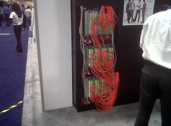 Ixia Hardware Rack