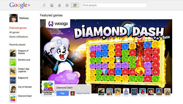 Google+ Games