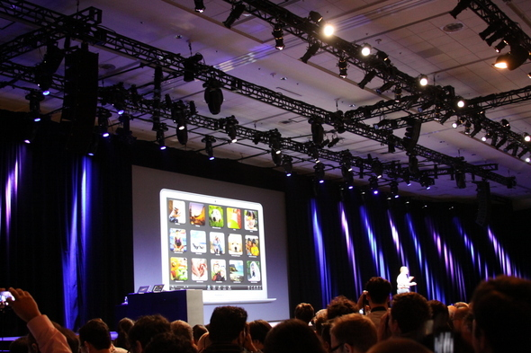 Next up for Lion OS: Full screen applications