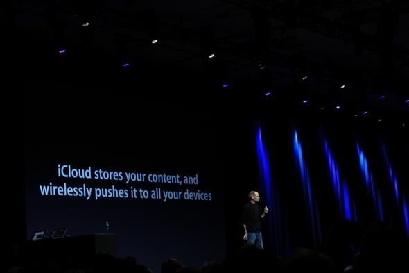 Jobs Returns To Talk About iCloud