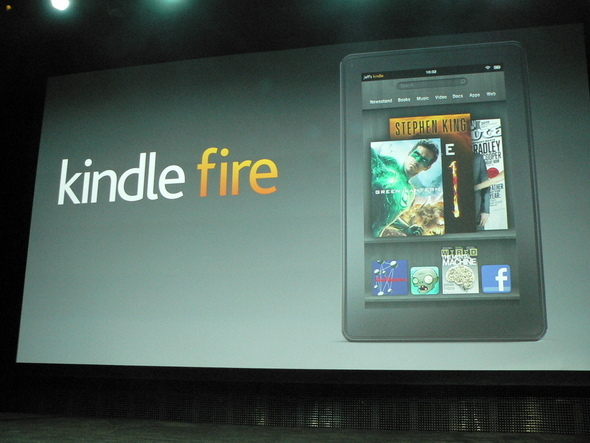Amazon Kindle Fire: Visual Tour
