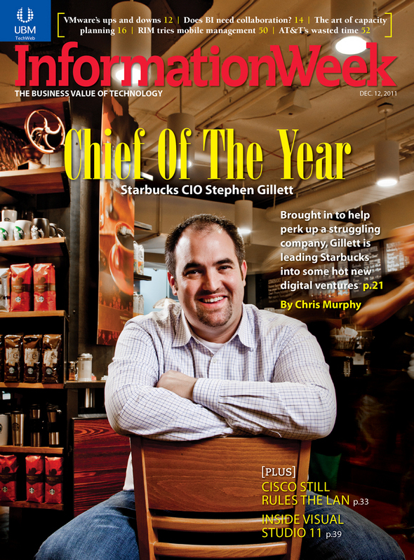 Starbucks CIO, InformationWeek's IT Chief Of The Year