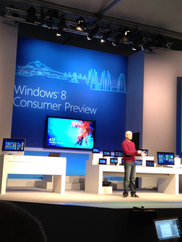 Windows 8 Consumer Preview Debuts At WMC Barcelona