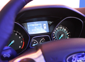 Ford Fusion 2013's interior dashboard 