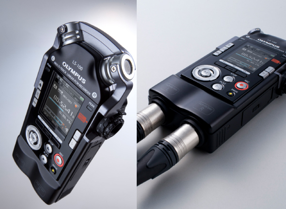 Olympus LS100: Smart, 24-Bit Pocket-Sized Recorder