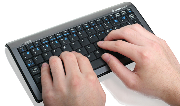 One Bluetooth Keyboard Serves Six Masters