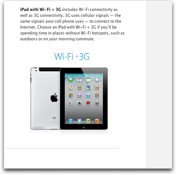 iPad Available With 3G