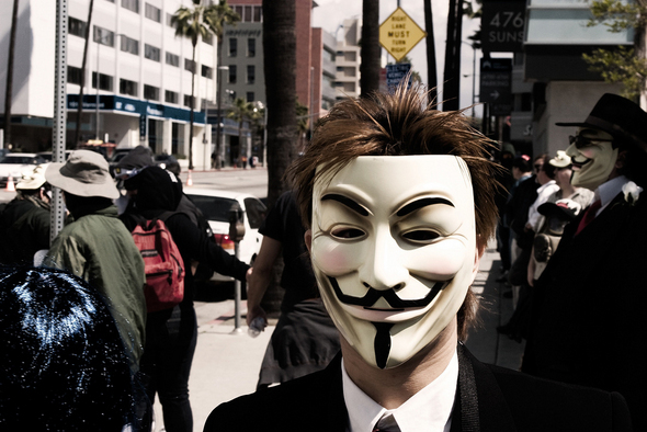 Anonymous: In The Beginning