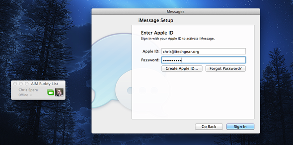 How To Set Up Apple Mountain Lion Messages Beta