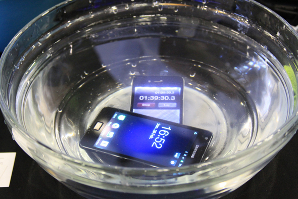 MWC 2012: Waterproof Your Smartphones, Tablets