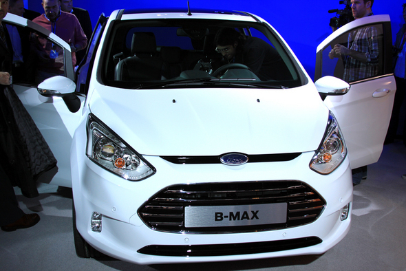 Ford B-MAX Makes European Debut