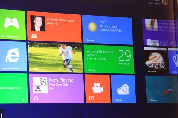 Windows 8 Metro Interface