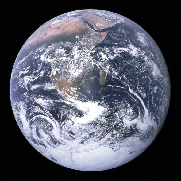 NASA's Blue Marble: 50 Years Of Earth Images