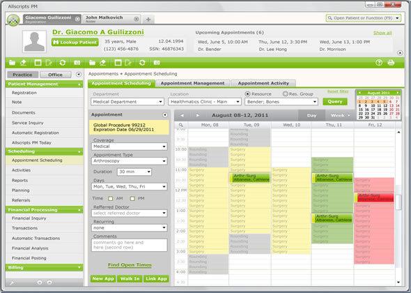 10 Top Medical Practice Management Software Systems