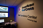 American Red Cross Social Media Command Center