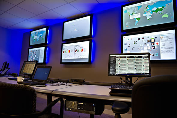 Inside Red Cross Social Media Command Center
