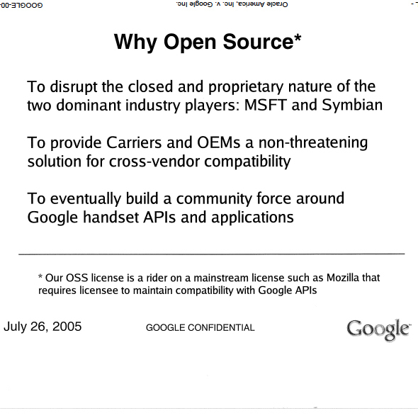 Why Did Google Go Open Source? To Harm Microsoft