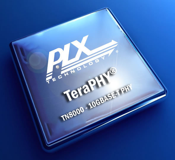 PLX Technology TeraPHY TN8045 10GBASE-T Transceiver