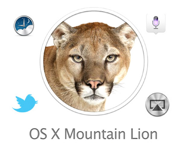 OS X: Mountain Lion Feature Montage