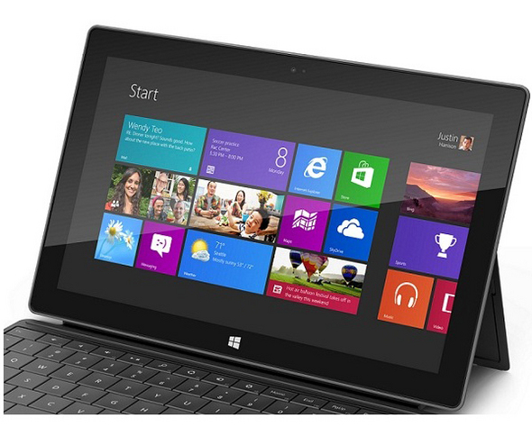 Top 10 features of the Microsoft Surface