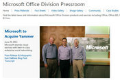 Questions About Microsoft's Acquisition of Yammer