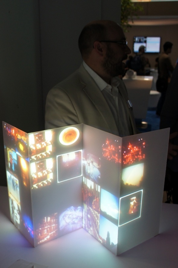 Intel Puts Future On Exhibit