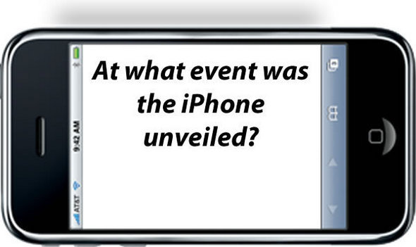 The iPhone 1.0 Anniversary Quiz